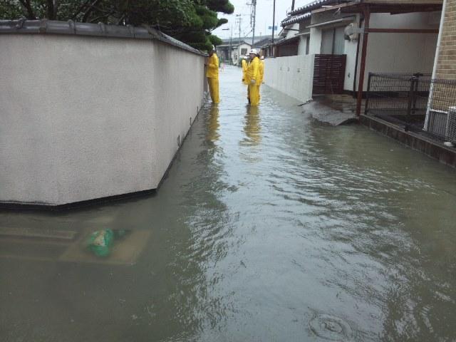 Oversvømmelse i Tamashima 03