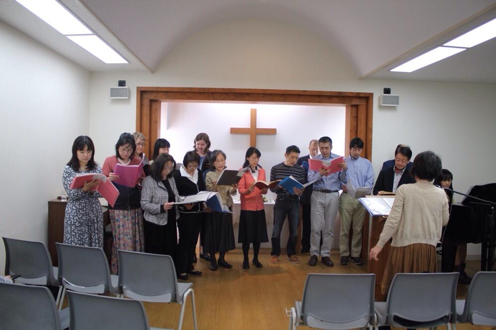 Påsken 2014: Kirkekoret